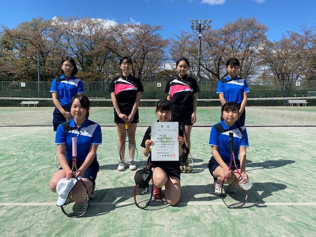 女子Aトーナメント 第3位