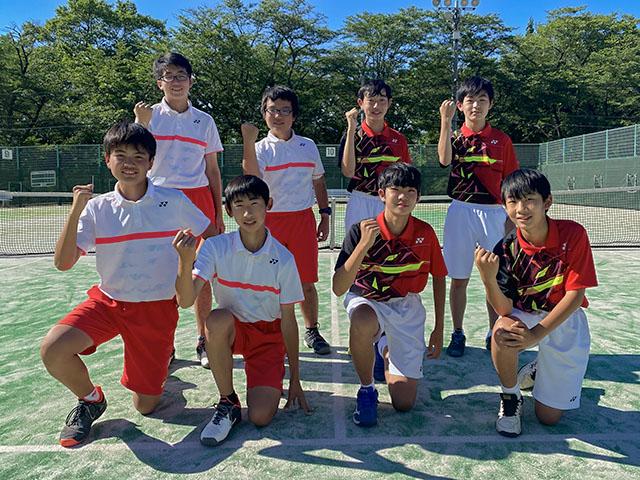 男子団体戦Aトーナメント第2位