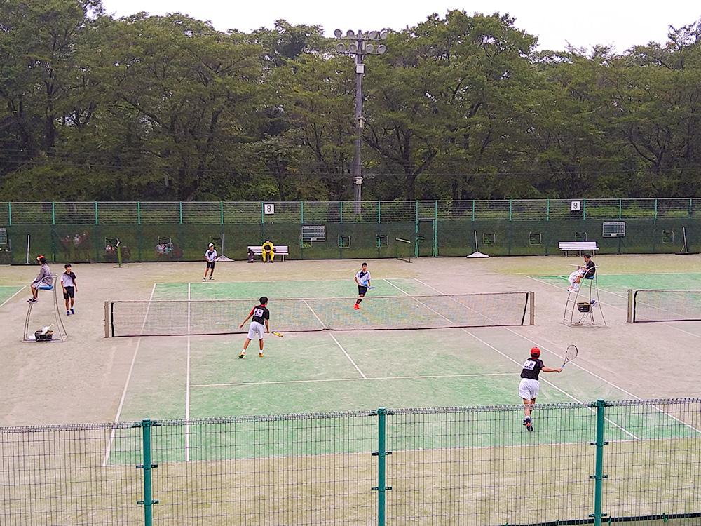 第28回盛岡市中学生学年別ソフトテニス大会