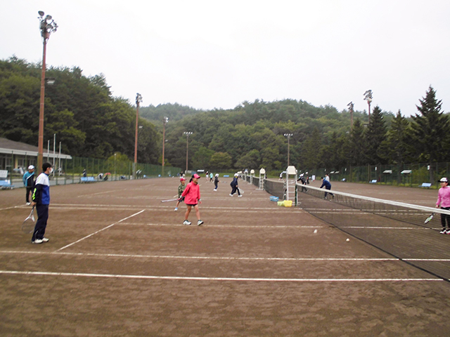 令和3年度第66回盛岡市家族ソフトテニス大会