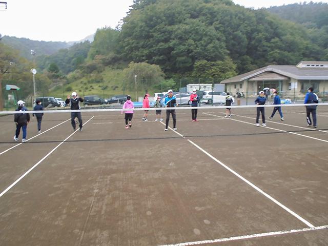 初級者ソフトテニス講習会